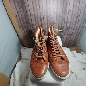 Frye lace up sneaker